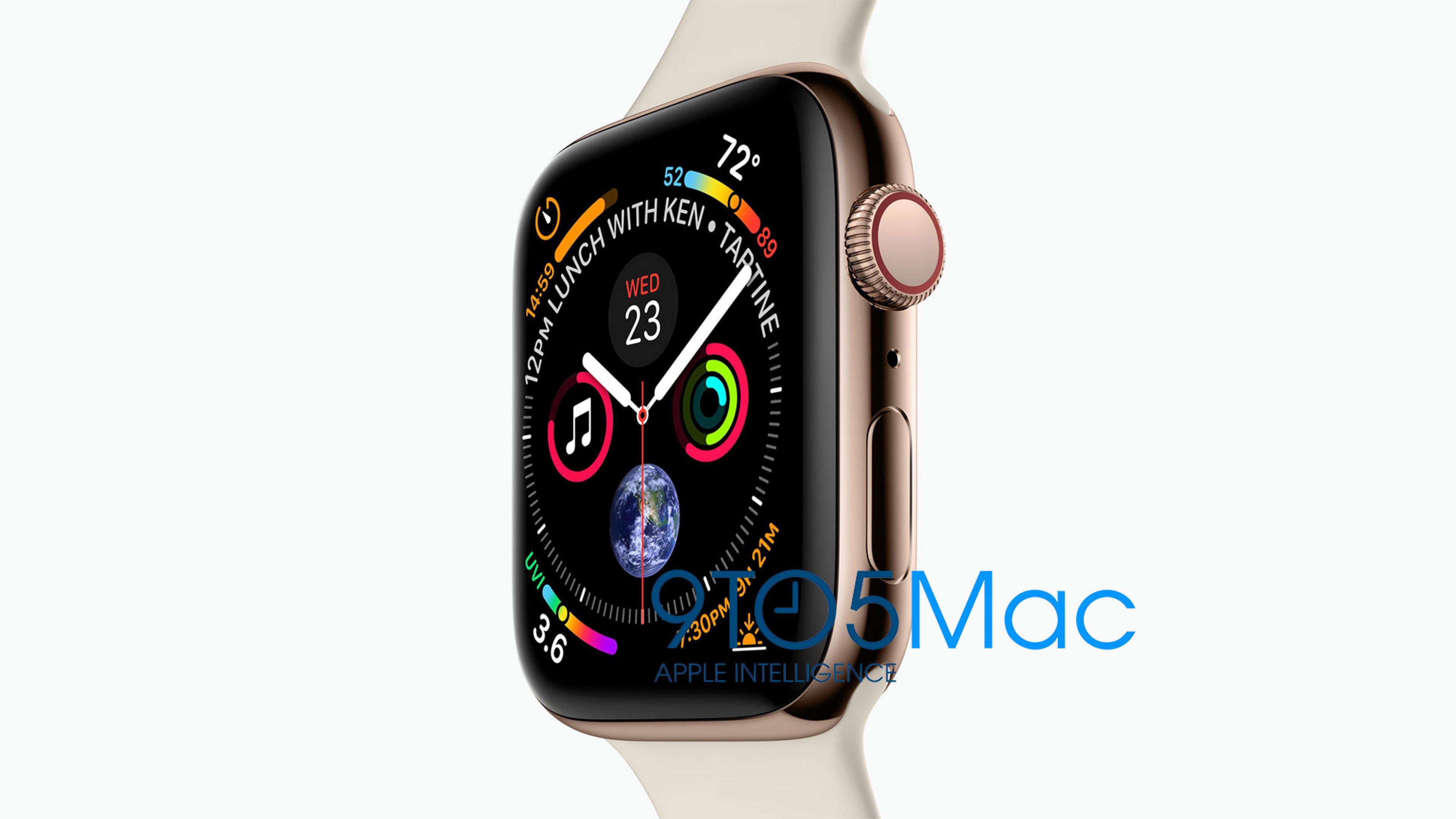 Apple Watch Series 4 von Apple vorgestellt, Leak, Bild, watchOS 5, 9to5mac, Hack4Life, Fabian Geissler, Apple Watch 4, Apple Watch series 4