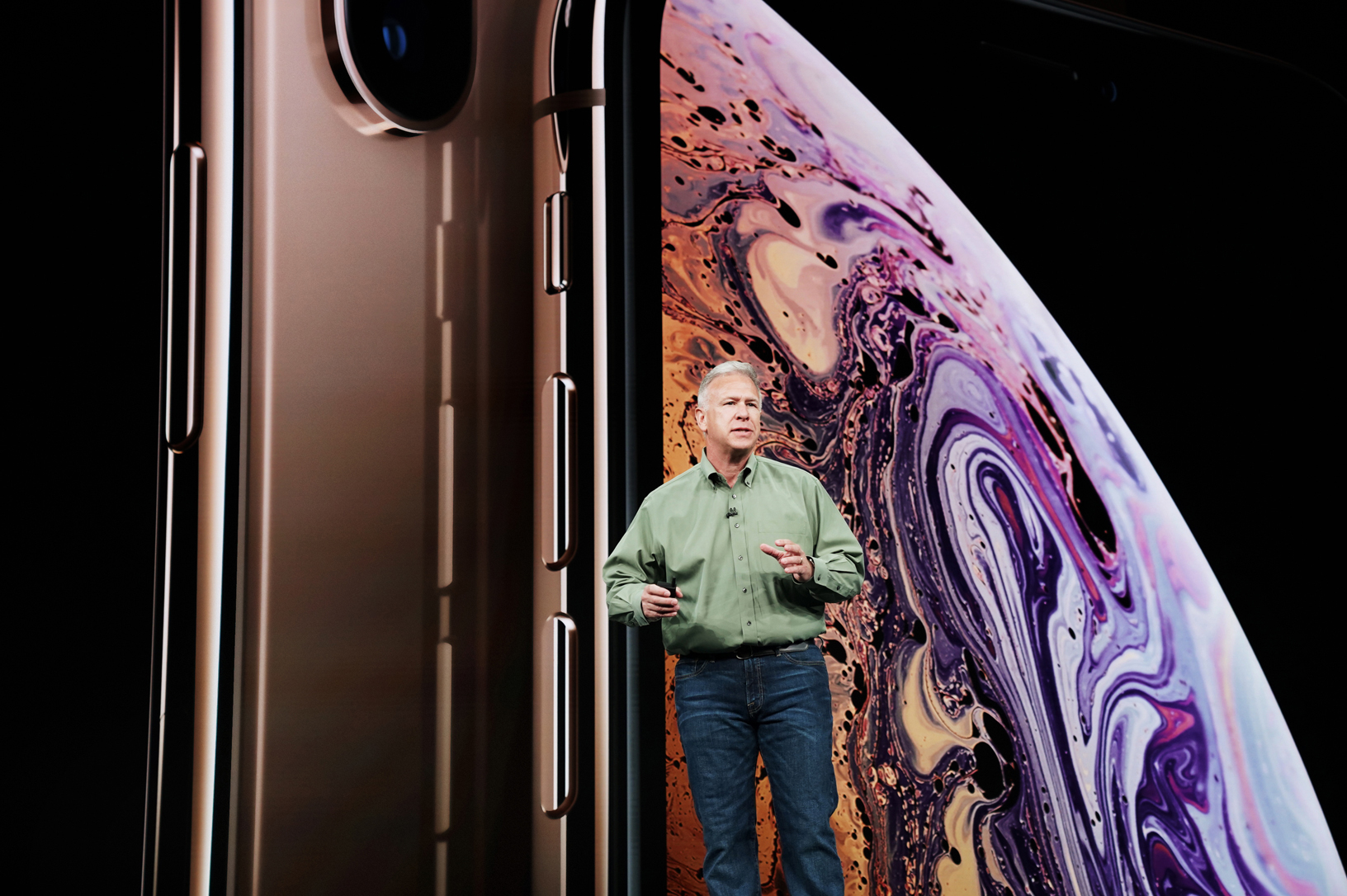 Phil Schiller stellt das iPhone Xs vor, Hack4Life, Fabian Geissler