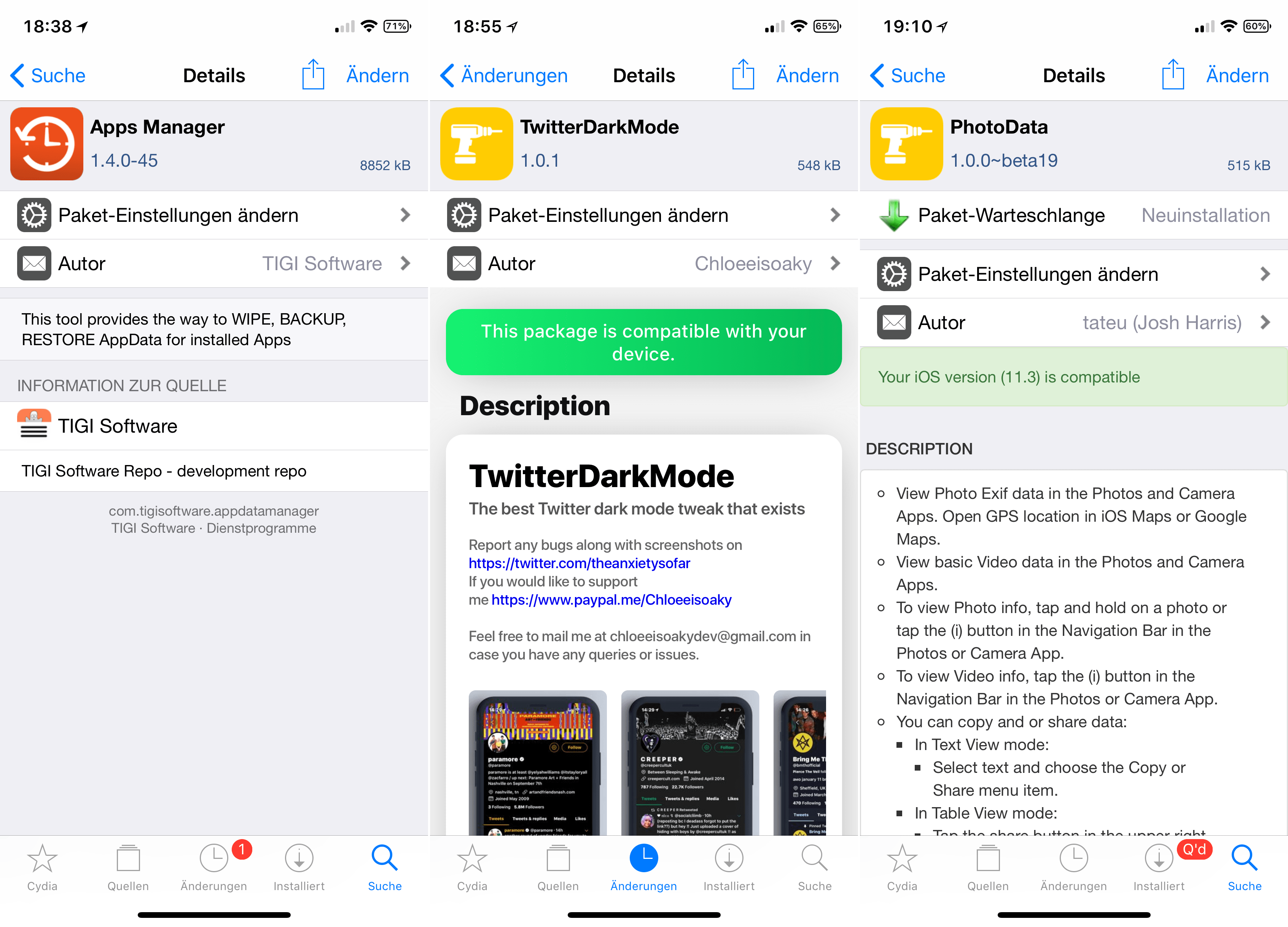 Top Cydia Tweaks: Apps Manager, countingNotes, Tweak Count 2 and
