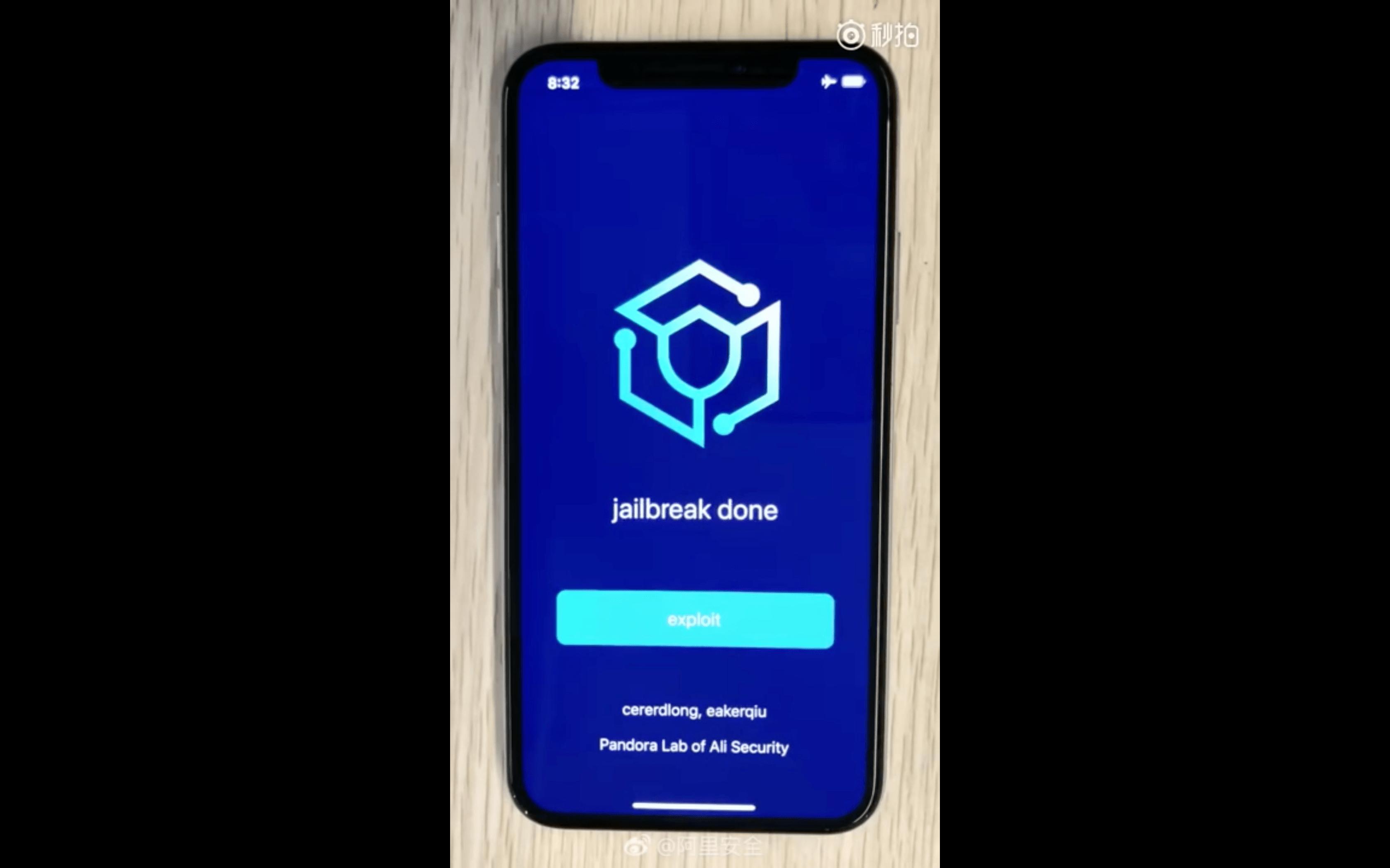 Pandora iOS 12 Jailbreak Tool, Hack4Life, Fabian Geissler, Tool, Download