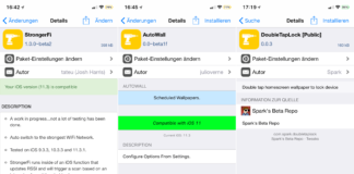 Top Cydia Tweaks - Issue 12,AutoWall, BigShotJb (iOS 11), DoubleTapLock, SwipeSelection, StrongerFi, Tutorials, Help, Free, Download, .deb, Cydia, Sileo, Hack4Life, Fabian Geissler