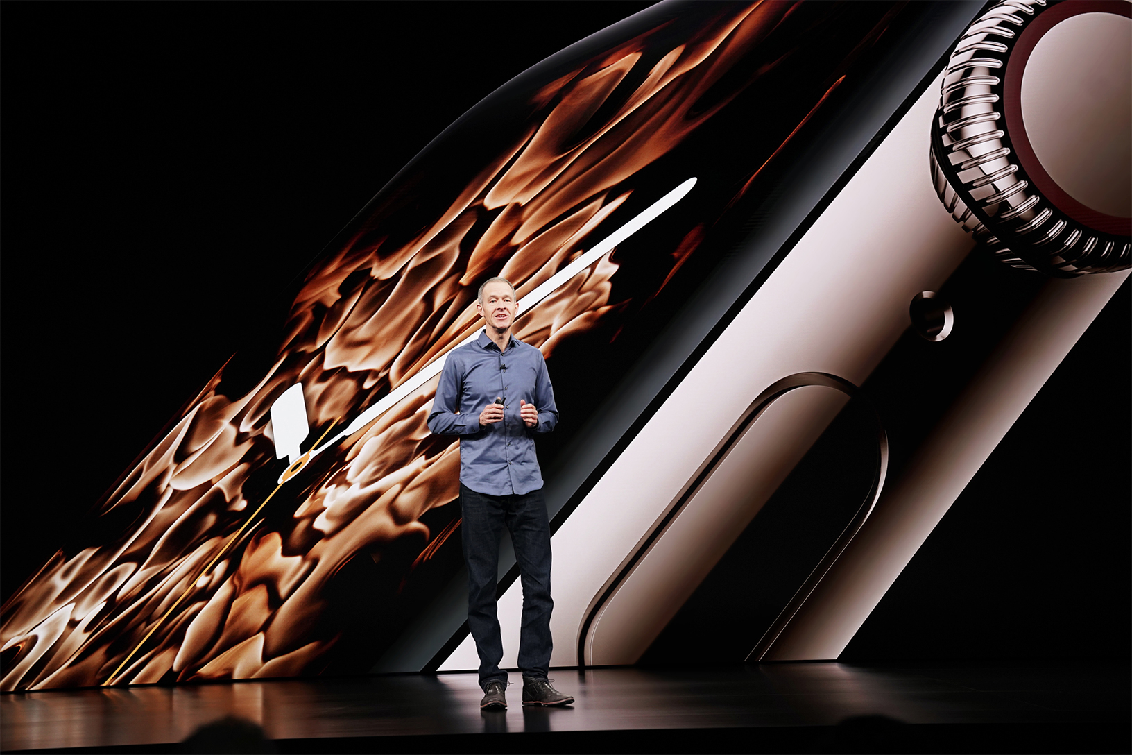 Jeff Williams präsentiert die Apple Watch Series 4, Hack4Life, Fabian Geissler