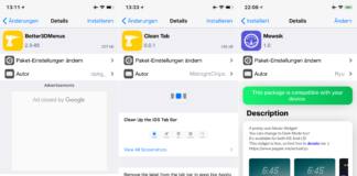 Better3DMenus, CleanTab, Mewsik, Topless Keyboard, PhoneForceOpenKeypad - Top Cydia Tweak Ausgabe 15, Hack4Life, Fabian Geissler, Top, Cydia, Tweaks, Sileo, iOS 11, iPhone X