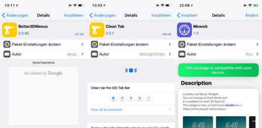 Better3DMenus, CleanTab, Mewsik, Topless Keyboard, PhoneForceOpenKeypad - Top Cydia Tweak Ausgabe 15, Hack4Life, Fabian Geissler, Top, Cydia, Tweaks, Sileo, iOS 11, iPhone X