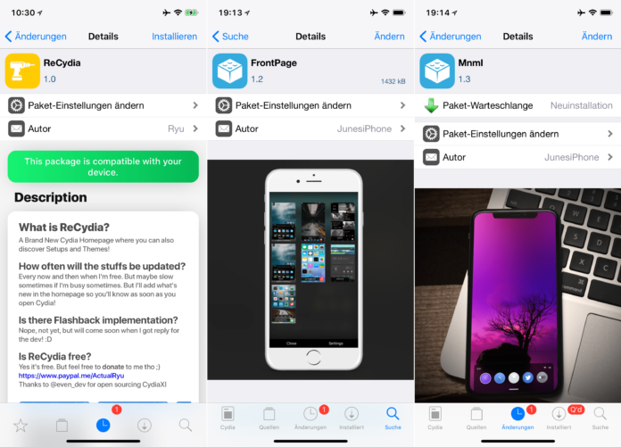 Cornuicopia, FrontPage, Mnml, ReCydia, WeatherAnimations, Top Cydia Tweaks Issue 16, Hack4Life, Fabian Geissler, Sileo, Download, free, .deb, SuperSecret Repo, Tutorial