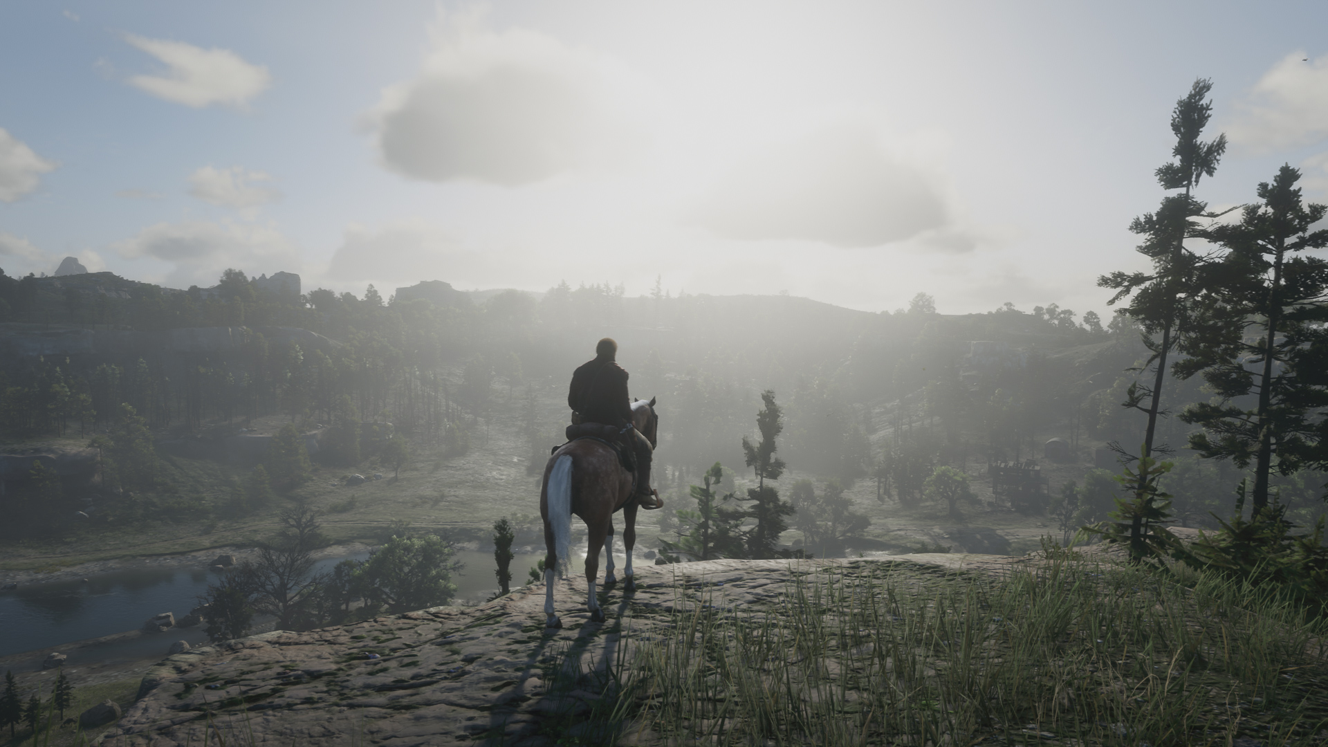 Pferde in Red Dead Redemption 2, Begleiter, Pflege, Tipps, Tricks, Review, Playstation 4 Pro, Hack4Life, Fabian Geissler, Game Engine, Welt, Tricks, Hacks, Bugs