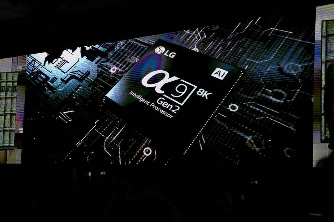 LG Alpha 9 Gen 2 8k Prozessor, LG, CES, Las Vegas, Hack4Life, Fabian Geissler
