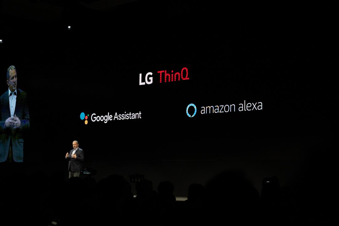 LG ThinQ unterstützt nun Google Assistant und Amazon Alexa, CES, Las Vegas, Hack4Life, Fabian Geissler
