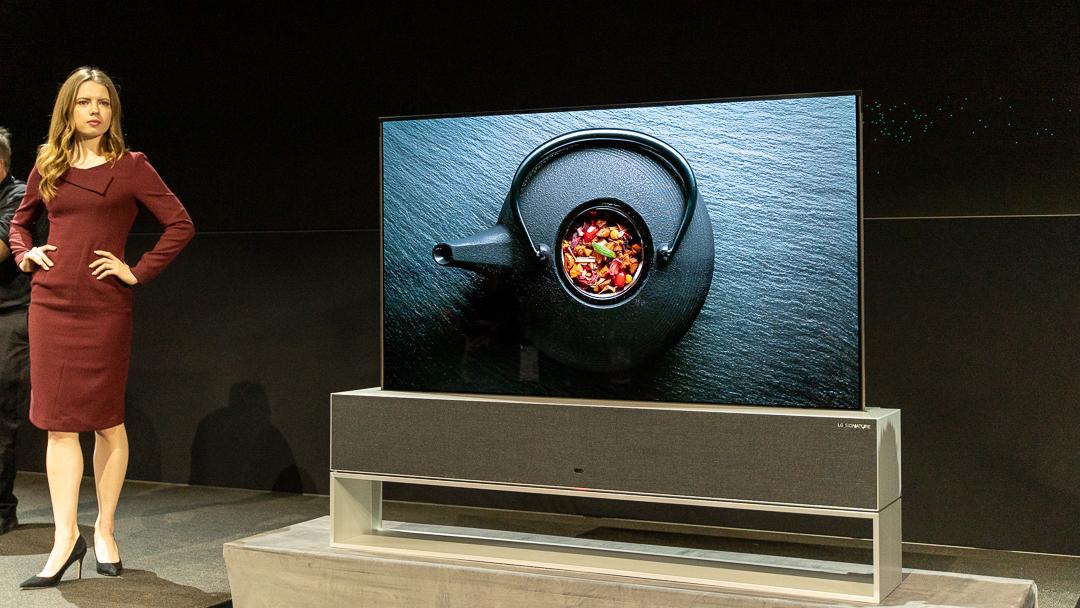 LG Signature OLED TV R, LG Pressekonferenz, CES 2019, Las Vegas, Hack4Life, Fabian Geissler