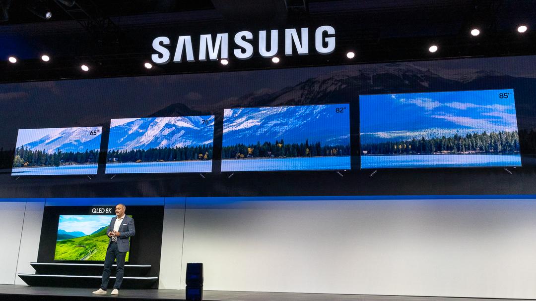 Samsung QLED 8K Modelle und Verfügbarkeit, CES, Samsung, Las Vegas, Hack4Life, Fabian Geissler