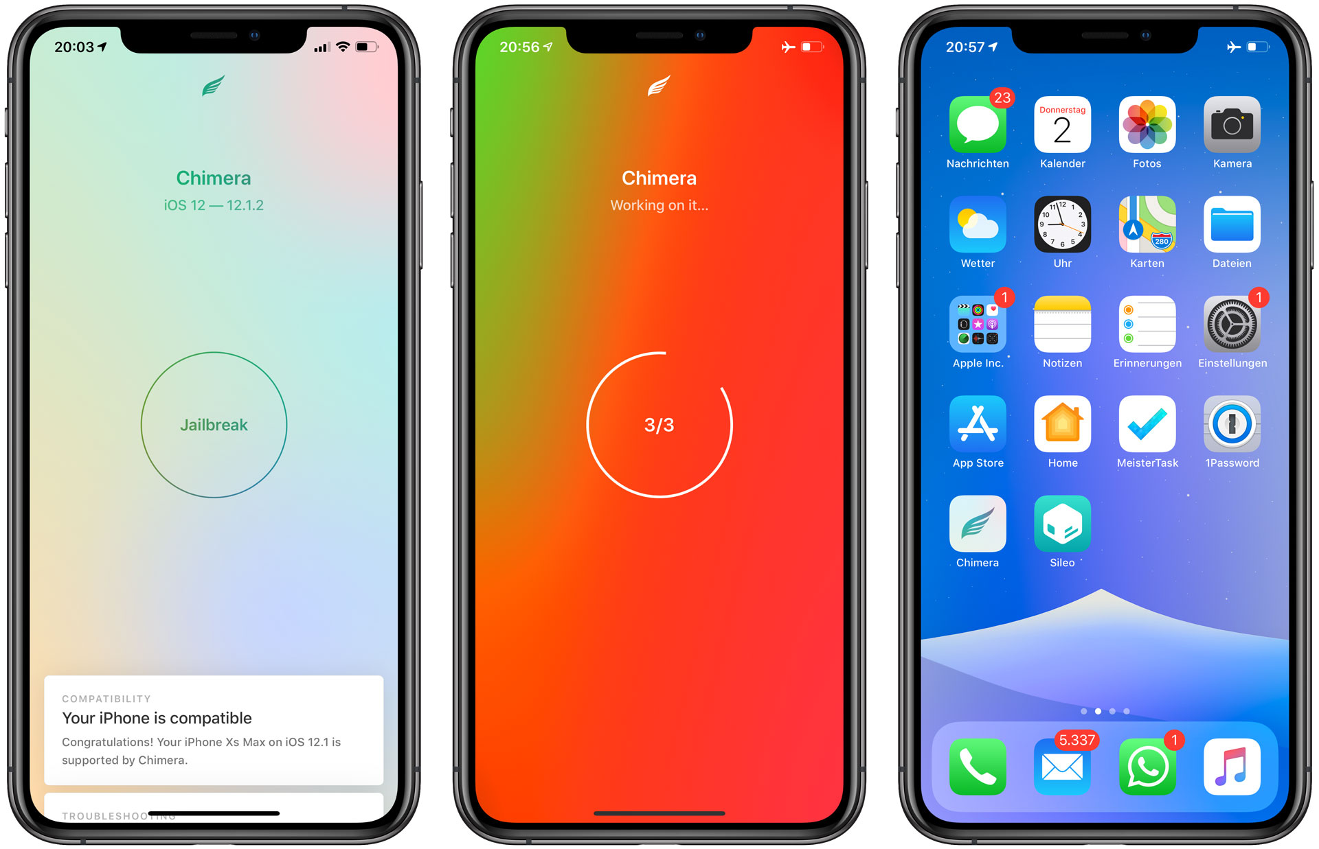 Chimera iOS 12 Jailbreak - So funktioniert's - Hack4Life