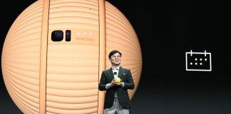 Samsungs CEO präsentiert Ballie / Bild: Samsung, Hack4Life, Fabian Geissler, Samsung Roboter, Ballie, Sicherheit, Überwachung mit Robotern, Zukunftselektronik, CES, Las Vegas, CES2020