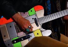 iPhone Gitarre aus 107 iPhones, Hack4Life, Fabian Geissler, Copper guitars, Anleitung, Video, Wie macht man eine Gitarre aus iPhones