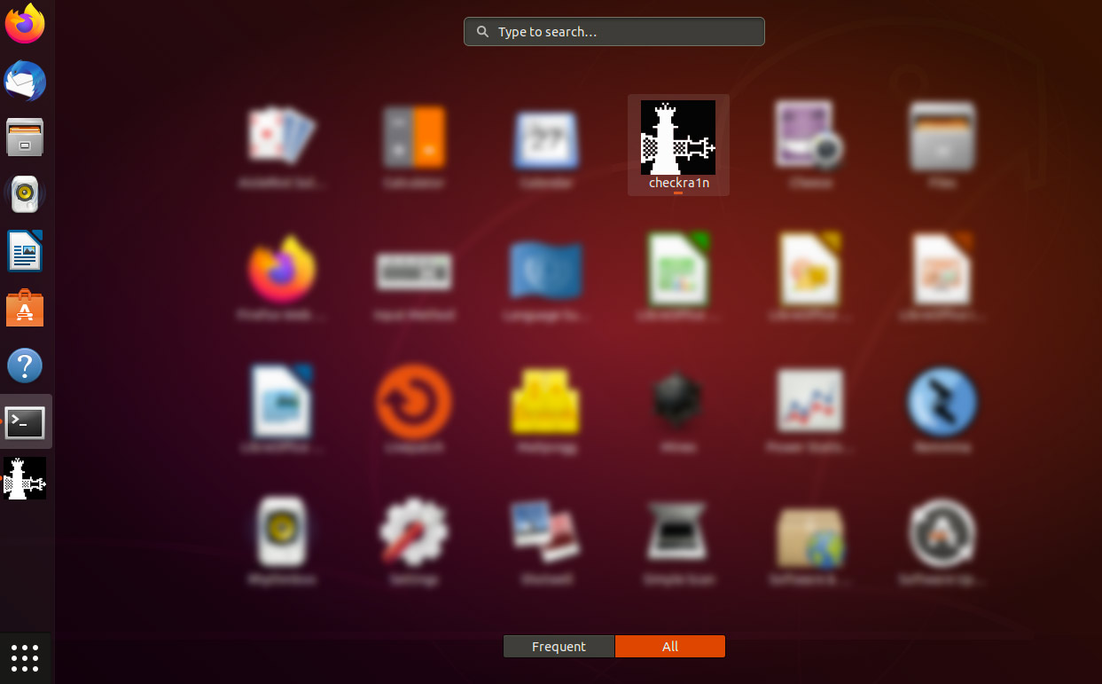 Checkra1n befindet sich unter Applications auf eurem Ubuntu System, Hack4Life, Fabian Geissler, Anleitung für Checkra1n unter Ubuntu, Checkra1n unter Linus als Programm installieren, Checkra1n GUI Linux, Trick