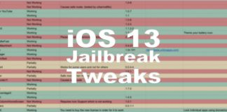 iOS 13 kompatible Tweaks für das iPhone 11, Hack4Life, Fabian Geissler, Jailbreak Tweaks, iOS 13 Jailbreak Tweaks, iOS 13 iPhone 11 Jailbreak Tweaks, iOS 13 Jailbreak Tweaks Liste, Übersicht iOS 13 Tweaks, Cydia Tweaks für iOS 13