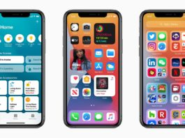 Screenshots von iOS 14 auf dem iPhone 11 Pro