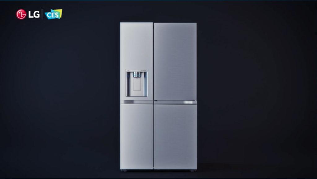 Kühlschrank von LG kommt mit größerem Sichtfenster, Hack4Life, Fabian Geissler, CES 2021