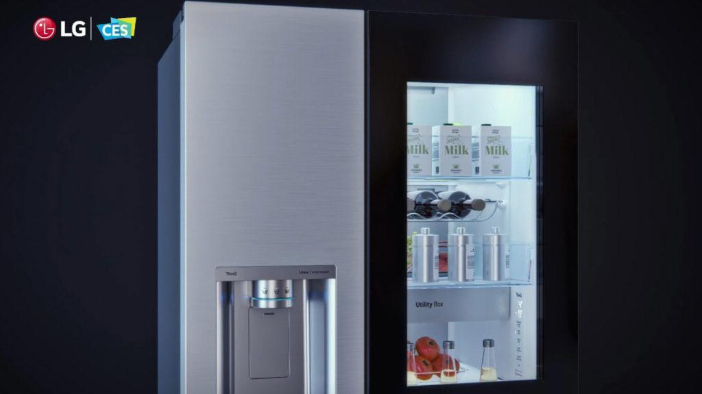 Ein größeres Sichtfenster im Kühlschrank von LG hilft beim Energiesparen, Hack4Life, Fabian Geissler, CES 2021
