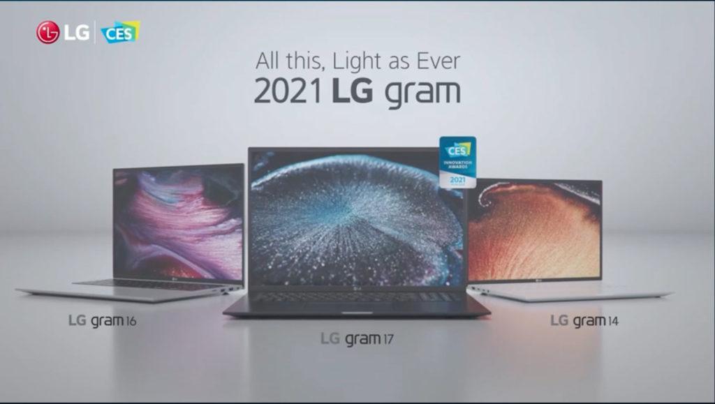 LG gram 2021 mit neuester Intel Version vorgestellt auf der CES 2021, Hack4Life, Fabian Geissler, CES 2021, LG