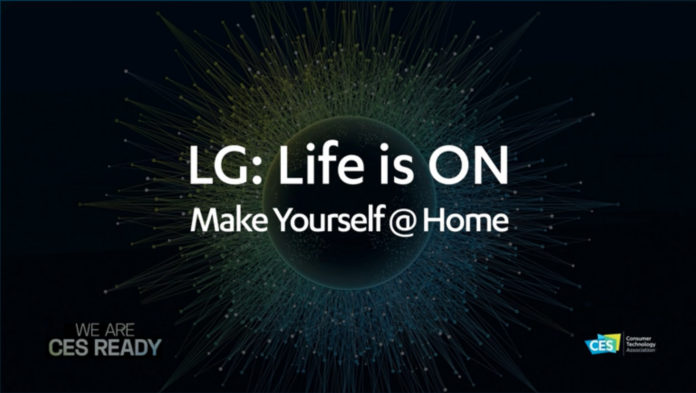 LG: Life is ON PRessekonferenz auf der CES 2021