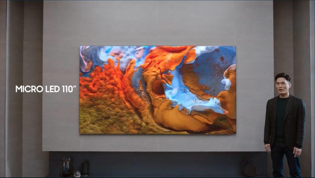 """Samsung stellt 110"""" großen Micro LED Fernseher auf der CES 2021 vor, Hack4Life, Fabian Geissler, CES 2021, Samsung"""