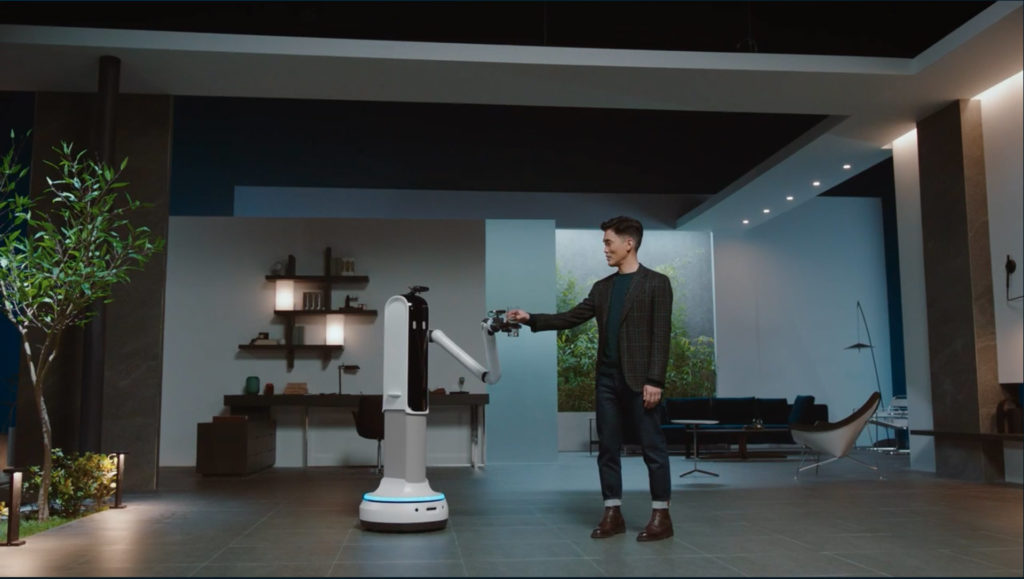 Samsung Bot Handy soll als Roboter im Haushalt unterstützen, Hack4Life, Fabian Geissler, CES 2021, Samsung Roboter