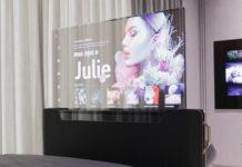 Transparenter OLED Bildschirm von LG auf der CES 2021 gezeigt, Hack4Life, Fabian Geissler, CES 2021, LG, OLED